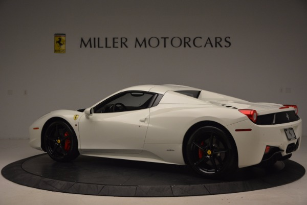 Used 2015 Ferrari 458 Spider for sale Sold at Rolls-Royce Motor Cars Greenwich in Greenwich CT 06830 16