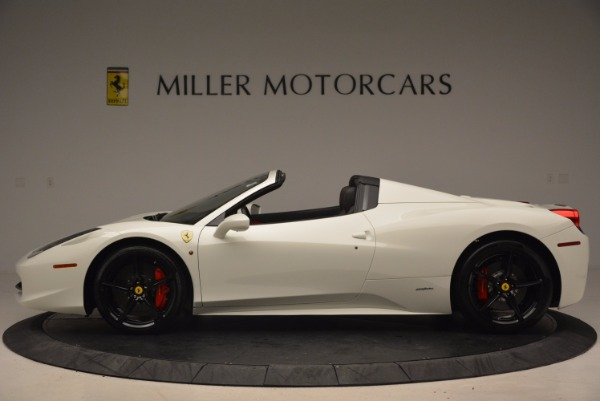 Used 2015 Ferrari 458 Spider for sale Sold at Rolls-Royce Motor Cars Greenwich in Greenwich CT 06830 3