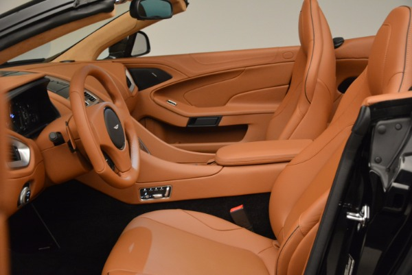 New 2018 Aston Martin Vanquish S Volante for sale Sold at Rolls-Royce Motor Cars Greenwich in Greenwich CT 06830 22