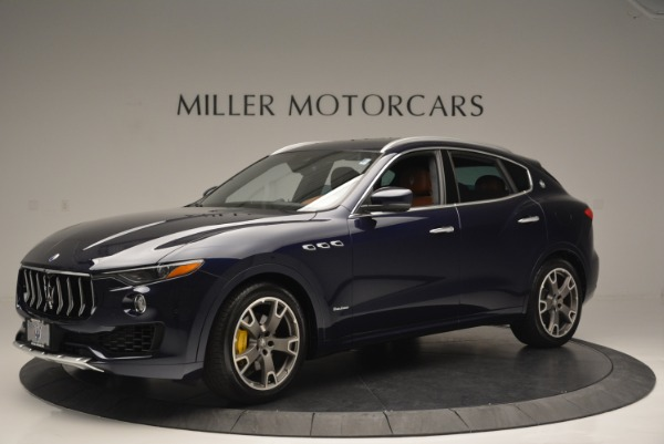 Used 2018 Maserati Levante Q4 GranLusso for sale Sold at Rolls-Royce Motor Cars Greenwich in Greenwich CT 06830 2