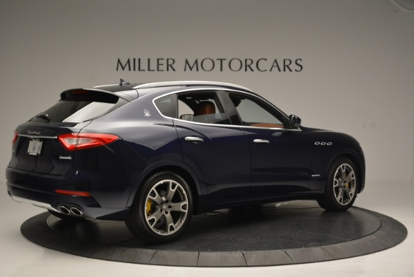 New 2018 Maserati Levante Q4 GranLusso for sale Sold at Rolls-Royce Motor Cars Greenwich in Greenwich CT 06830 8