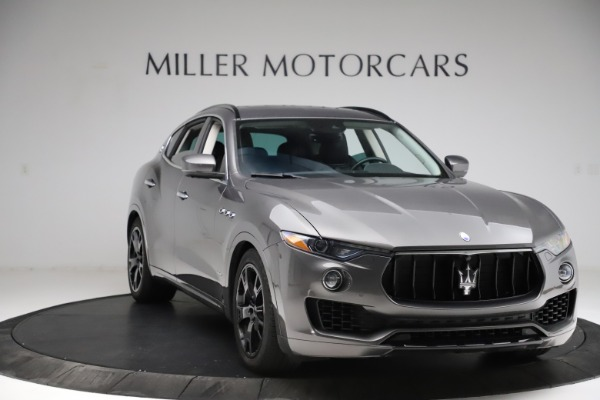 Used 2018 Maserati Levante SQ4 GranSport for sale $55,900 at Rolls-Royce Motor Cars Greenwich in Greenwich CT 06830 11