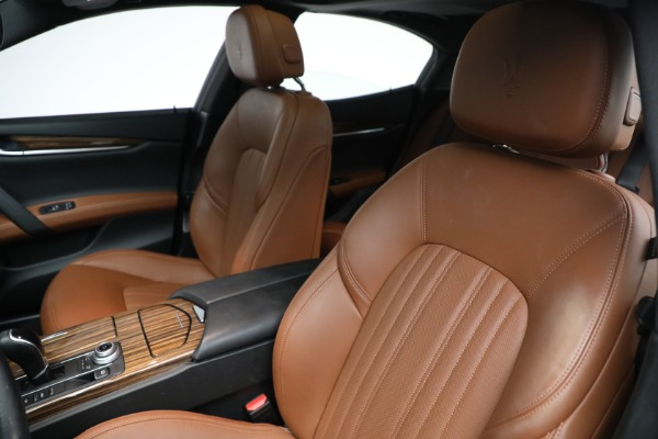 Used 2018 Maserati Ghibli S Q4 GranLusso for sale $56,900 at Rolls-Royce Motor Cars Greenwich in Greenwich CT 06830 13