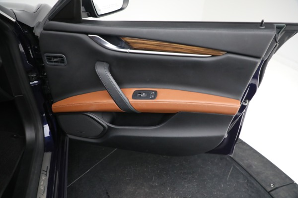 Used 2018 Maserati Ghibli S Q4 GranLusso for sale $56,900 at Rolls-Royce Motor Cars Greenwich in Greenwich CT 06830 22