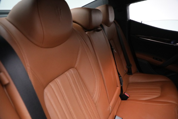 Used 2018 Maserati Ghibli S Q4 GranLusso for sale $56,900 at Rolls-Royce Motor Cars Greenwich in Greenwich CT 06830 25