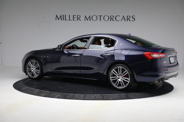 New 2018 Maserati Ghibli S Q4 GranLusso for sale Sold at Rolls-Royce Motor Cars Greenwich in Greenwich CT 06830 3