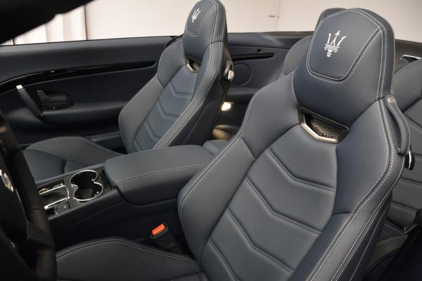 New 2016 Maserati GranTurismo Convertible Sport for sale Sold at Rolls-Royce Motor Cars Greenwich in Greenwich CT 06830 22