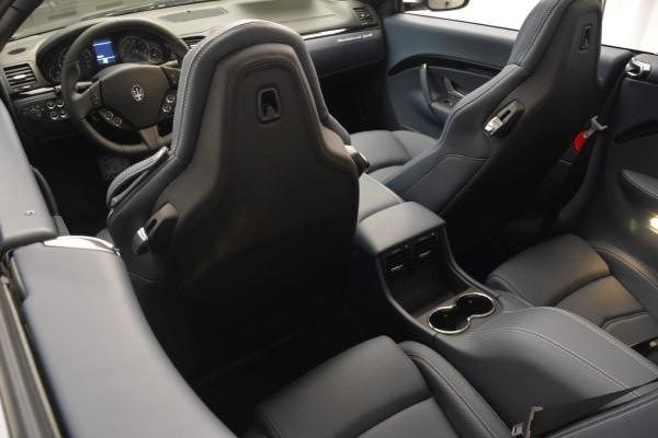 New 2016 Maserati GranTurismo Convertible Sport for sale Sold at Rolls-Royce Motor Cars Greenwich in Greenwich CT 06830 23