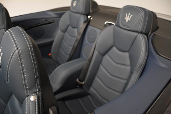 New 2016 Maserati GranTurismo Convertible Sport for sale Sold at Rolls-Royce Motor Cars Greenwich in Greenwich CT 06830 25