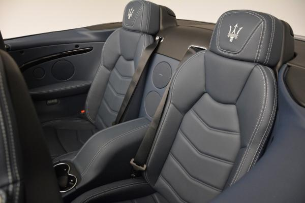 New 2016 Maserati GranTurismo Convertible Sport for sale Sold at Rolls-Royce Motor Cars Greenwich in Greenwich CT 06830 26