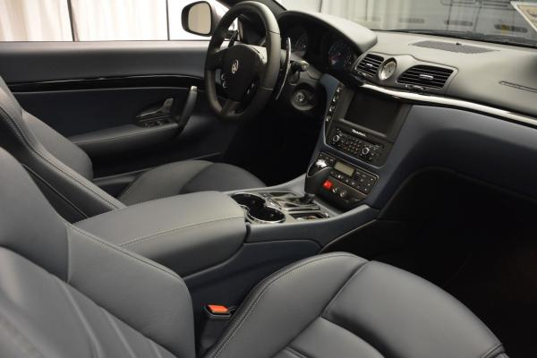 New 2016 Maserati GranTurismo Convertible Sport for sale Sold at Rolls-Royce Motor Cars Greenwich in Greenwich CT 06830 27