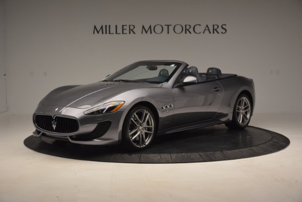 New 2016 Maserati GranTurismo Convertible Sport for sale Sold at Rolls-Royce Motor Cars Greenwich in Greenwich CT 06830 3