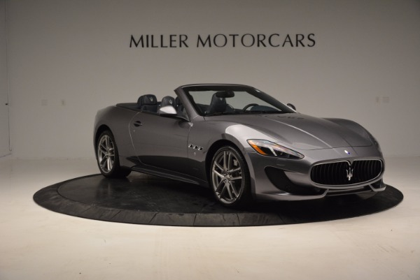 New 2016 Maserati GranTurismo Convertible Sport for sale Sold at Rolls-Royce Motor Cars Greenwich in Greenwich CT 06830 8