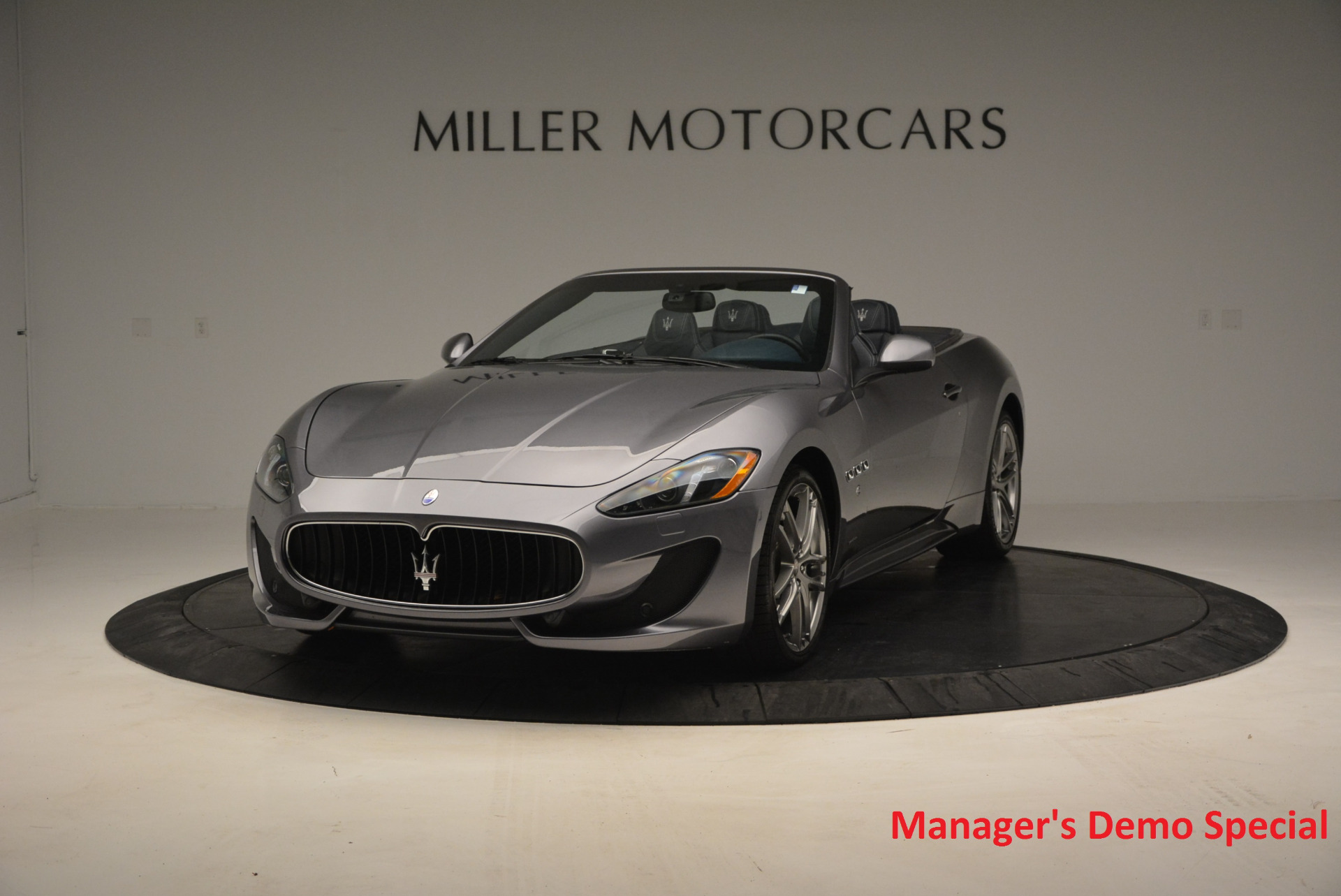 New 2016 Maserati GranTurismo Convertible Sport for sale Sold at Rolls-Royce Motor Cars Greenwich in Greenwich CT 06830 1