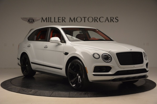 New 2018 Bentley Bentayga Black Edition for sale Sold at Rolls-Royce Motor Cars Greenwich in Greenwich CT 06830 12