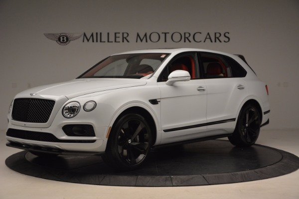 New 2018 Bentley Bentayga Black Edition for sale Sold at Rolls-Royce Motor Cars Greenwich in Greenwich CT 06830 2