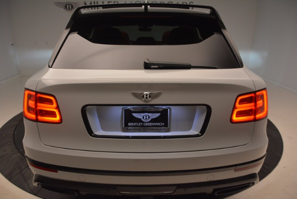 New 2018 Bentley Bentayga Black Edition for sale Sold at Rolls-Royce Motor Cars Greenwich in Greenwich CT 06830 25