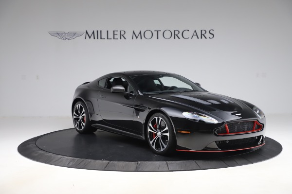 New 2017 Aston Martin V12 Vantage S Coupe for sale $179,900 at Rolls-Royce Motor Cars Greenwich in Greenwich CT 06830 10