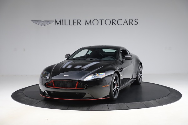 Used 2017 Aston Martin V12 Vantage S Coupe for sale Sold at Rolls-Royce Motor Cars Greenwich in Greenwich CT 06830 12