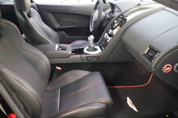 Used 2017 Aston Martin V12 Vantage S Coupe for sale $179,900 at Rolls-Royce Motor Cars Greenwich in Greenwich CT 06830 22