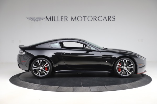 Used 2017 Aston Martin V12 Vantage S Coupe for sale Sold at Rolls-Royce Motor Cars Greenwich in Greenwich CT 06830 8