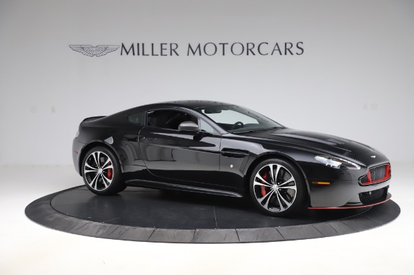 Used 2017 Aston Martin V12 Vantage S Coupe for sale Sold at Rolls-Royce Motor Cars Greenwich in Greenwich CT 06830 9