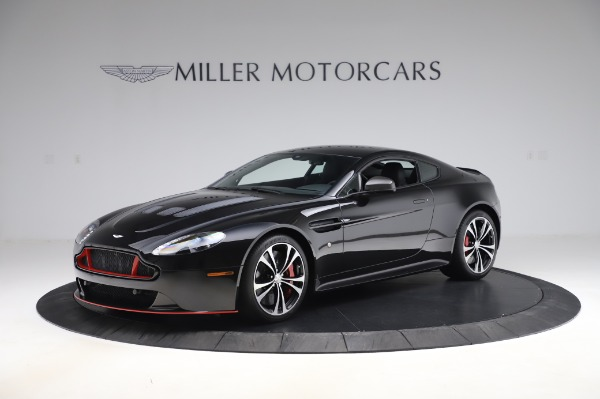 New 2017 Aston Martin V12 Vantage S for sale Sold at Rolls-Royce Motor Cars Greenwich in Greenwich CT 06830 1