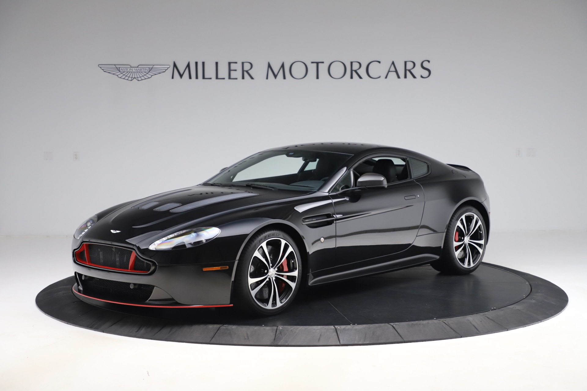 Used 2017 Aston Martin V12 Vantage S Coupe for sale Sold at Rolls-Royce Motor Cars Greenwich in Greenwich CT 06830 1