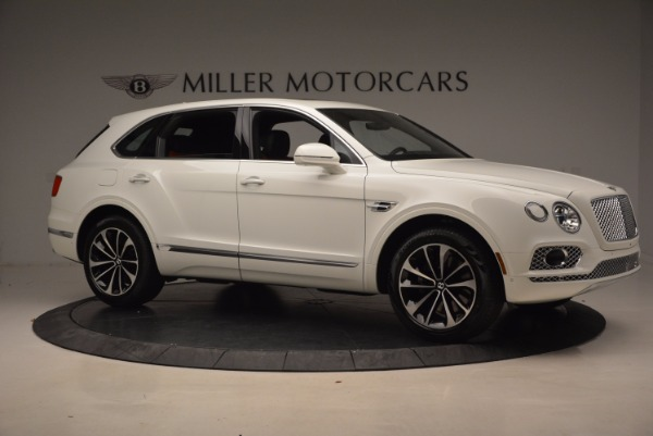 Used 2018 Bentley Bentayga Onyx for sale Call for price at Rolls-Royce Motor Cars Greenwich in Greenwich CT 06830 10