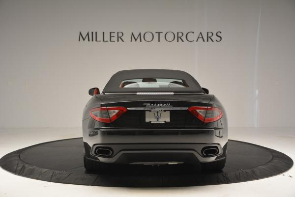 New 2016 Maserati GranTurismo Convertible Sport for sale Sold at Rolls-Royce Motor Cars Greenwich in Greenwich CT 06830 12