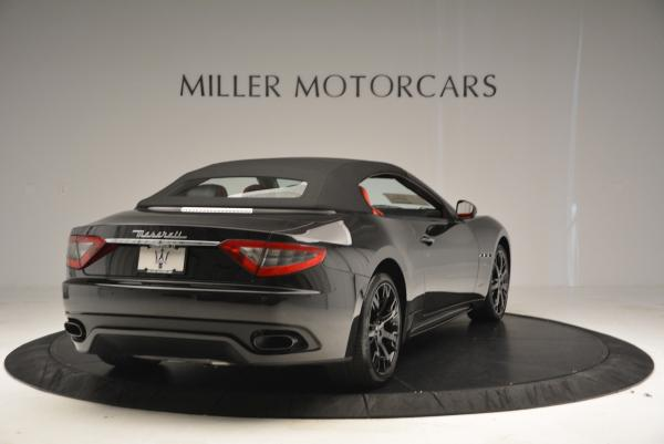 New 2016 Maserati GranTurismo Convertible Sport for sale Sold at Rolls-Royce Motor Cars Greenwich in Greenwich CT 06830 14