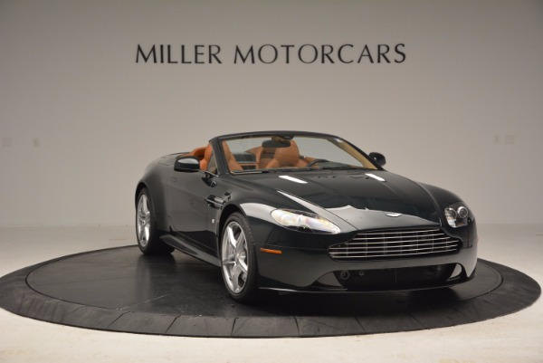 Used 2016 Aston Martin V8 Vantage S Roadster for sale Sold at Rolls-Royce Motor Cars Greenwich in Greenwich CT 06830 11