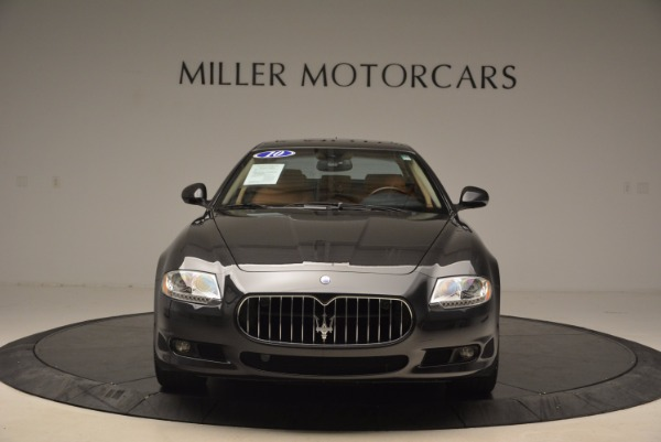 Used 2010 Maserati Quattroporte S for sale Sold at Rolls-Royce Motor Cars Greenwich in Greenwich CT 06830 12