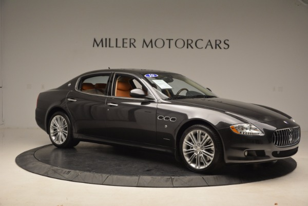 Used 2010 Maserati Quattroporte S for sale Sold at Rolls-Royce Motor Cars Greenwich in Greenwich CT 06830 22