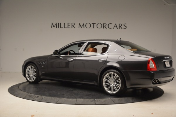 Used 2010 Maserati Quattroporte S for sale Sold at Rolls-Royce Motor Cars Greenwich in Greenwich CT 06830 4
