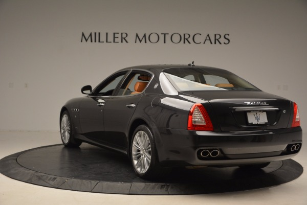 Used 2010 Maserati Quattroporte S for sale Sold at Rolls-Royce Motor Cars Greenwich in Greenwich CT 06830 5