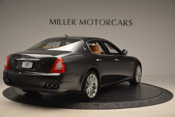 Used 2010 Maserati Quattroporte S for sale Sold at Rolls-Royce Motor Cars Greenwich in Greenwich CT 06830 7
