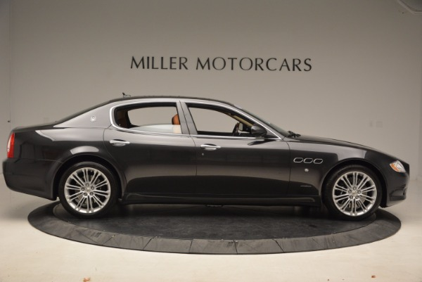 Used 2010 Maserati Quattroporte S for sale Sold at Rolls-Royce Motor Cars Greenwich in Greenwich CT 06830 9