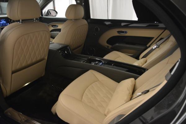 Used 2017 Bentley Mulsanne EWB for sale Sold at Rolls-Royce Motor Cars Greenwich in Greenwich CT 06830 17