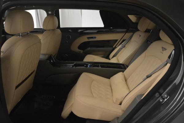 Used 2017 Bentley Mulsanne EWB for sale Sold at Rolls-Royce Motor Cars Greenwich in Greenwich CT 06830 18