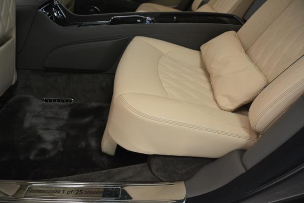 Used 2017 Bentley Mulsanne EWB for sale Sold at Rolls-Royce Motor Cars Greenwich in Greenwich CT 06830 20