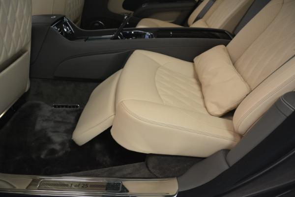 Used 2017 Bentley Mulsanne EWB for sale Sold at Rolls-Royce Motor Cars Greenwich in Greenwich CT 06830 21
