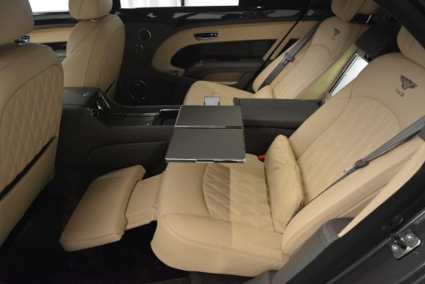 Used 2017 Bentley Mulsanne EWB for sale Sold at Rolls-Royce Motor Cars Greenwich in Greenwich CT 06830 26
