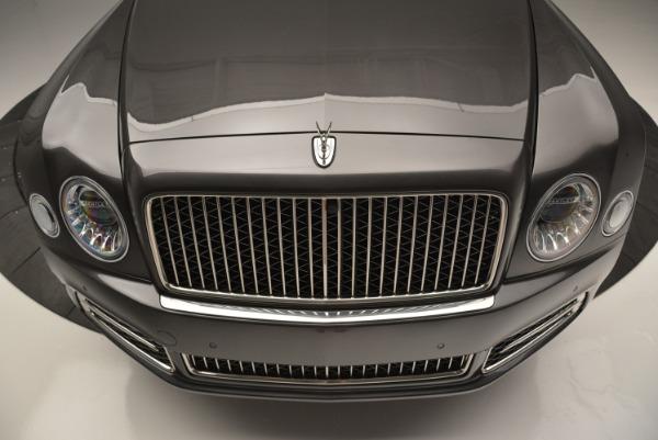 Used 2017 Bentley Mulsanne EWB for sale Sold at Rolls-Royce Motor Cars Greenwich in Greenwich CT 06830 4