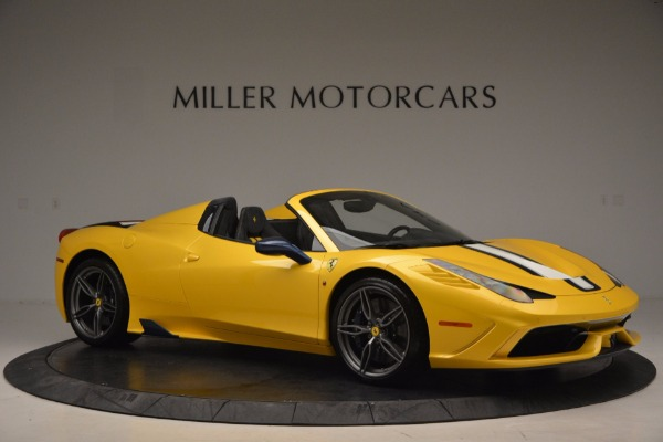 Used 2015 Ferrari 458 Speciale Aperta for sale Sold at Rolls-Royce Motor Cars Greenwich in Greenwich CT 06830 10
