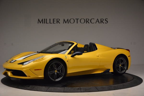 Used 2015 Ferrari 458 Speciale Aperta for sale Sold at Rolls-Royce Motor Cars Greenwich in Greenwich CT 06830 2