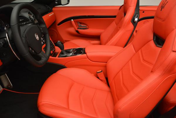 New 2017 Maserati GranTurismo Convertible Sport for sale Sold at Rolls-Royce Motor Cars Greenwich in Greenwich CT 06830 18
