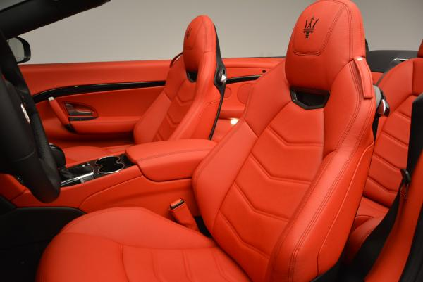 New 2017 Maserati GranTurismo Convertible Sport for sale Sold at Rolls-Royce Motor Cars Greenwich in Greenwich CT 06830 19