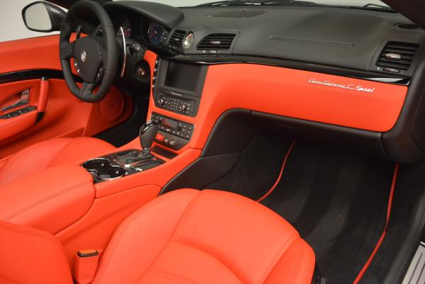 New 2017 Maserati GranTurismo Convertible Sport for sale Sold at Rolls-Royce Motor Cars Greenwich in Greenwich CT 06830 23