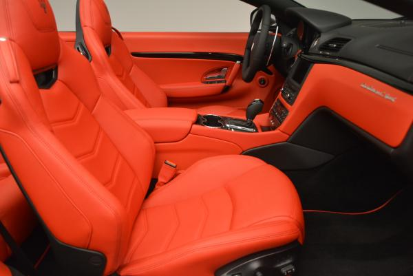 New 2017 Maserati GranTurismo Convertible Sport for sale Sold at Rolls-Royce Motor Cars Greenwich in Greenwich CT 06830 24